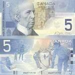 Buy CAD 5 Bills Online