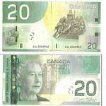 Buy CAD 20 Bills Online