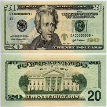 Buy USD 20 Bills Online