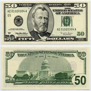 Buy USD 50 Bills Online