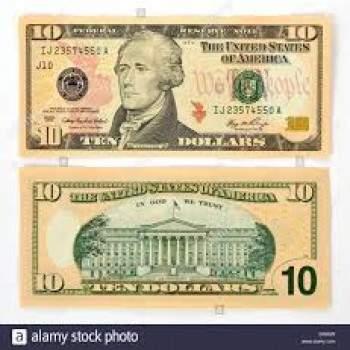 Buy USD 10 Bills Online