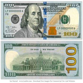 Buy USD 100 Bills Online